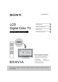 Service Manual Sony KDL-46EX520