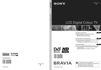 User Manual Sony KDL-26U2000