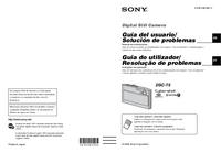 Bedienungsanleitung Sony DSC-T5