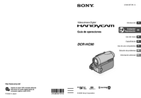 Manual del usuario Sony DCR-HC90