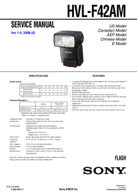 Service Manual Sony HVL-F42AM