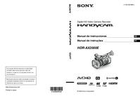 User Manual Sony HDR-AX2000E