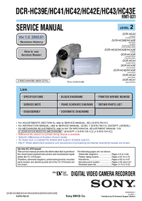 Service Manual Sony RMT-831