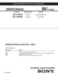 Service Manual Sony MA-1