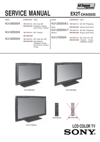Service Manual Sony EX2T
