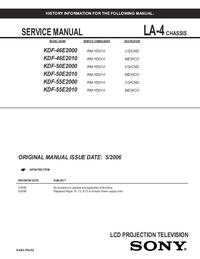 Service Manual Sony LA-4