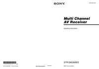 Manual del usuario Sony STR-DA5300ES