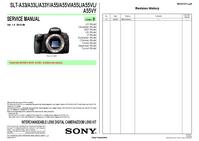 Руководство по техническому обслуживанию Sony SLT-A55VL