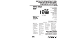 Manual de servicio Sony CCD-TRV25