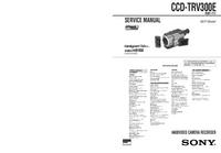 Manual de servicio Sony CCD-TRV300E