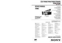 Service Manual Sony CCD-TRV99E