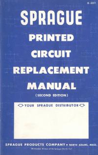 manuel de réparation Sprague XXXXX