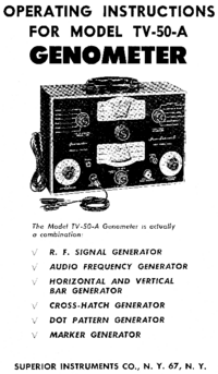 Service and User Manual Superior TV-50A
