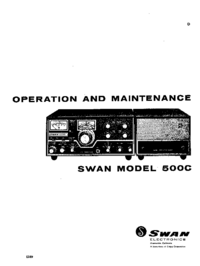 Swan-3909-Manual-Page-1-Picture