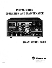 Swan-3919-Manual-Page-1-Picture