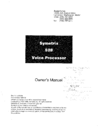 Symetrix-9914-Manual-Page-1-Picture