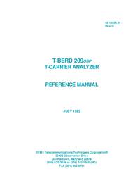 Gebruikershandleiding TTC T-Berd 209 OSP
