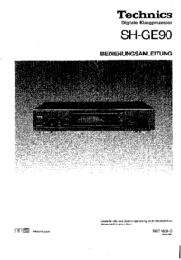 Technics-4575-Manual-Page-1-Picture
