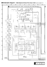Cirquit Diagrama Technics A700