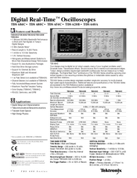 Tektronix-10019-Manual-Page-1-Picture