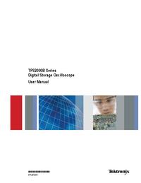 User Manual Tektronix TPS2000B Series