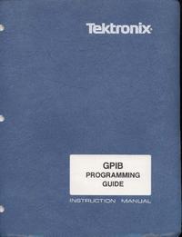 Książeczka Tektronix GPIB Programing Guide