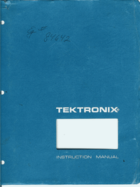 Tektronix-1775-Manual-Page-1-Picture