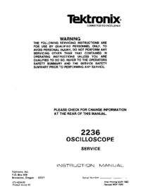Tektronix-1777-Manual-Page-1-Picture