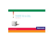 Instrukcja obsługi Tektronix Phaser 740L