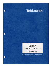 Tektronix-2570-Manual-Page-1-Picture