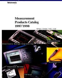 Tektronix-3966-Manual-Page-1-Picture