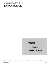 Tektronix-4503-Manual-Page-1-Picture