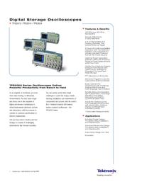 Datasheet Tektronix TPS2014