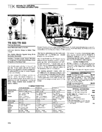 Tektronix-6465-Manual-Page-1-Picture
