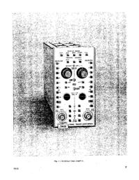 Технический паспорт Tektronix 7A12