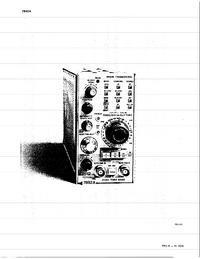 folha de dados Tektronix 7B92