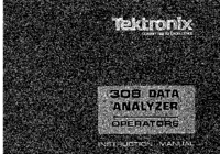 User Manual Tektronix 308