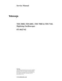 Service Manual Tektronix TDS 700D