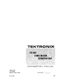Tektronix-9950-Manual-Page-1-Picture