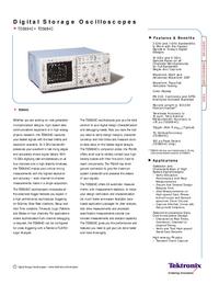 Технический паспорт Tektronix TDS684C