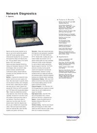 Datenblatt Tektronix Spectra