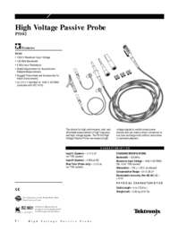 Datenblatt Tektronix P5102