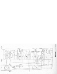 Service Manual, cirquit diagram only Telefunken 174 GWK