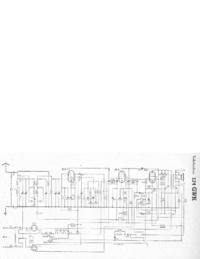 Manual de servicio, diagrama cirquit sólo Telefunken 174 GWK