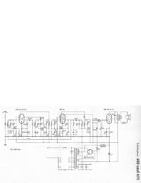 Manual de servicio, diagrama cirquit sólo Telefunken 468