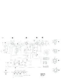 Руководство по техническому обслуживанию, cirquit схеме, только Telefunken Bajazzo 51