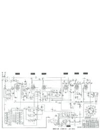Service Manual, cirquit diagram only Telefunken D 860 WK