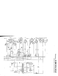 Manuel, schéma cirquit seulement Telefunken D 860 WKZ