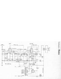 Instrukcja serwisowa, schemat cirquit tylko Telefunken Roma