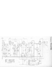 Руководство по техническому обслуживанию, cirquit схеме, только Telefunken TA 55 WK